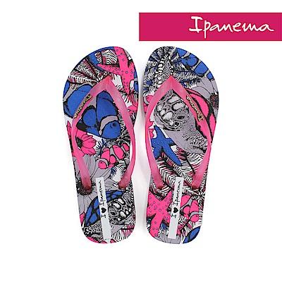 IPANEMA 熱帶動物園夾腳拖鞋-桃色/藍色