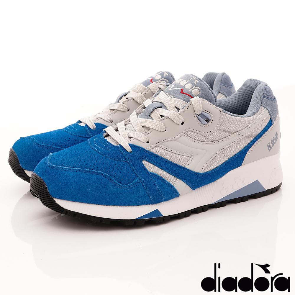 DIADORA-N9000復刻款-170483C6130灰藍(男段)