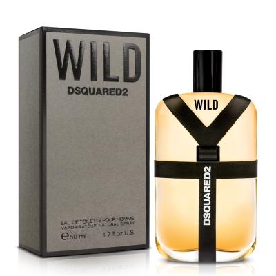 DSQUARED2 WILD 男性淡香水50ml 隨機送品牌小香