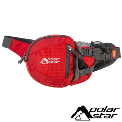 【PolarStar】休閒腰包『紅』露營│健行│旅遊 P15814-101