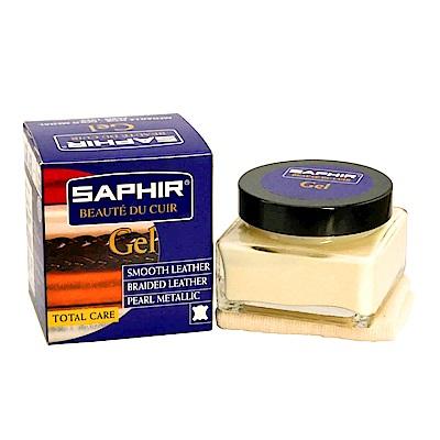 【SAPHIR莎菲爾】珍珠光澤滋養霜-特殊乳液有效引出皮件的珍珠光澤