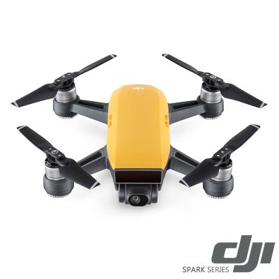 DJI Spark 空拍機全能套裝-向陽黃