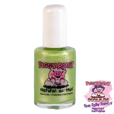 Piggy Paint 天然無毒兒童專用指甲油-珠光嫩綠