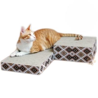(買一送一)寵喵樂 4-in-1百變魔術方塊貓抓板 3入