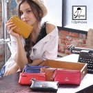 1/2princess真皮雙層手機袋零錢包錢包-6色 [A0027]
