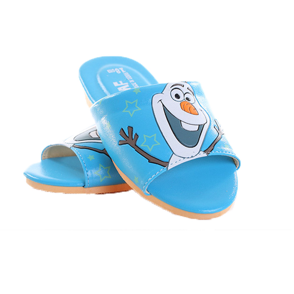 迪士尼冰雪奇緣雪寶室內拖鞋 sh9787