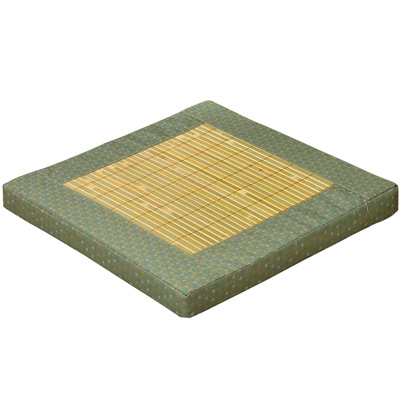 【戀香】日式緹花大青立體坐墊(綠)
