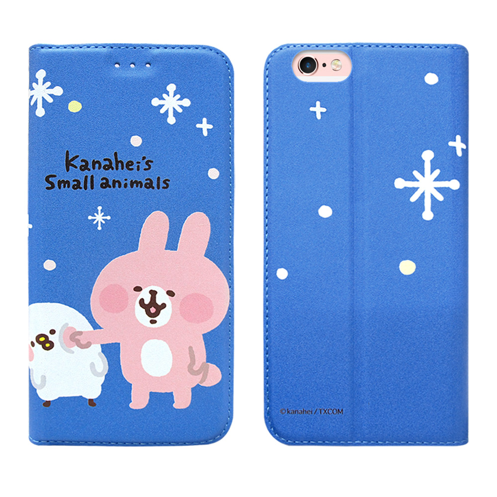官方授權 卡娜赫拉 iPhone 6s/6 4.7吋 彩繪磁力皮套(戳戳臉) @ Y!購物