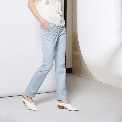 簡約百搭時尚直筒造型長褲 兩色