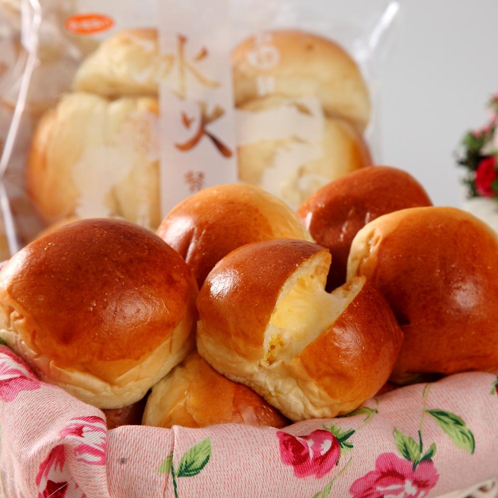 純新麵包 黃金冰火餐包x10包-原味、黑糖任選(10顆/包)