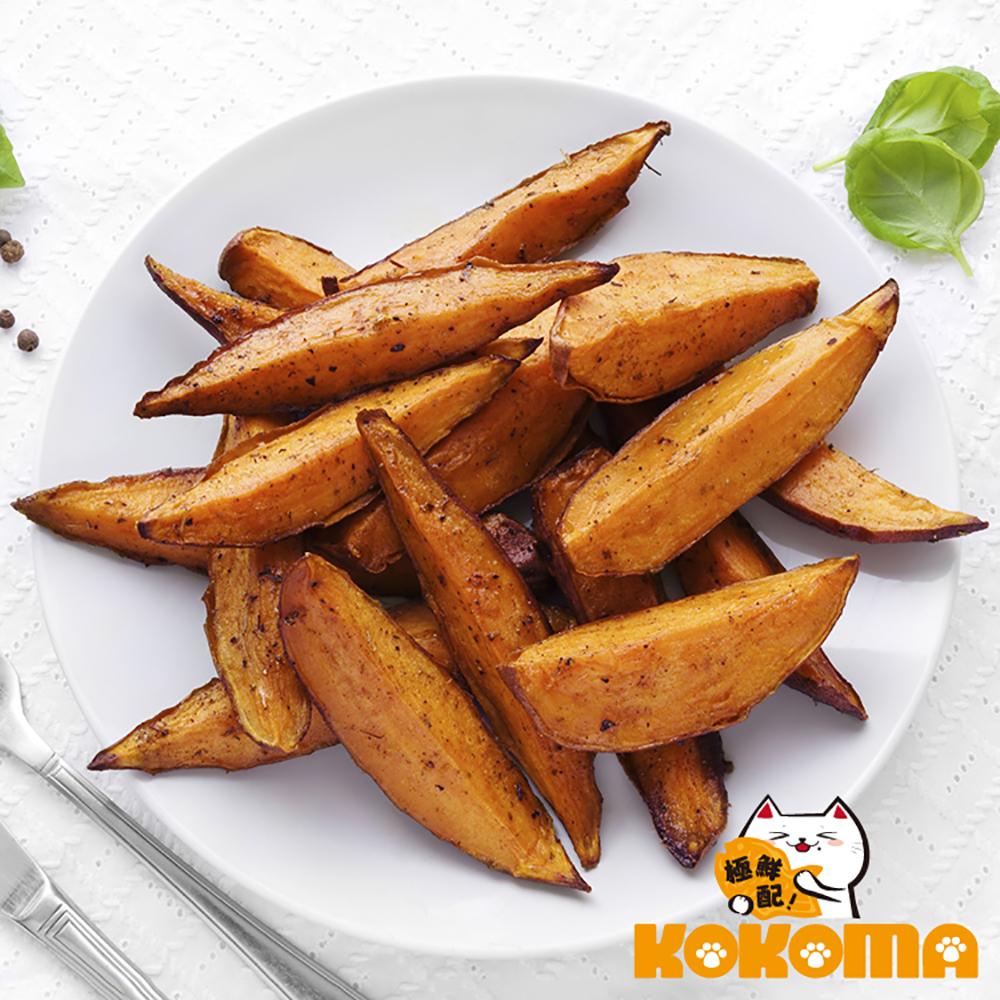 極鮮配 帶皮原塊調味薯條(契型)(300g±10%/包)-10包入