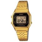 CASIO 經典復古數字型電子錶(LA-680WGA-1)-金色x黑框/28.6mm