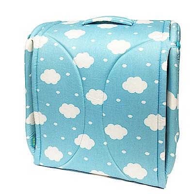 BabyCot攜帶型寶寶行動眠床 雲朵藍