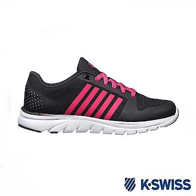 K-swiss Ace Trainer B CMF輕量訓練鞋-女-黑/莓紅