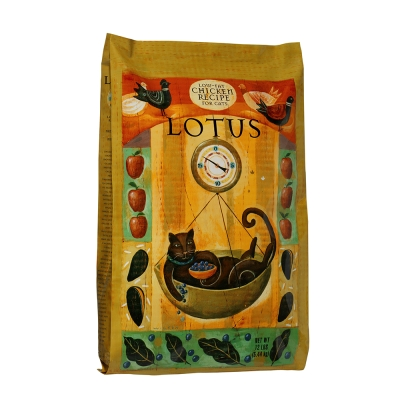 LOTUS樂特斯 養生鮮雞佐海洋貽貝-高齡/肥胖貓(12磅)