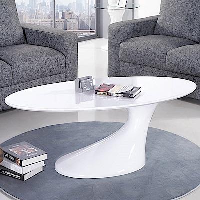 H&D 白色塑鋼大茶几 (寬120X深60X高45cm)