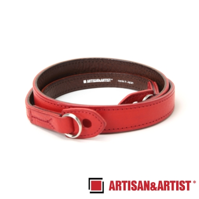 ARTISAN & ARTIST  義大利牛革相機背帶 ACAM-283(紅)