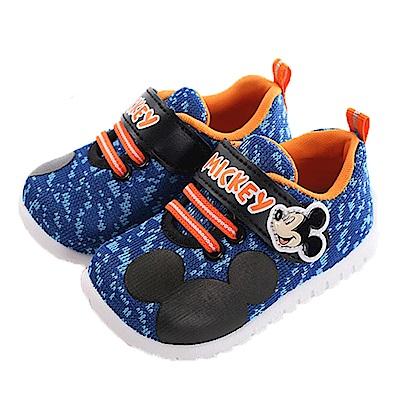 迪士尼米奇魔鬼貼舒適鞋 藍 sk0270 魔法Baby