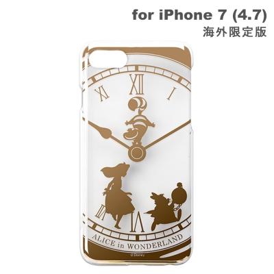 iJacket-iPhone-7-4-7吋-愛麗絲夢遊仙境-金箔-硬式手機殼海外版