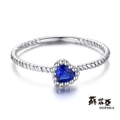 蘇菲亞SOPHIA 藍寶石戒指 - 海洋之心
