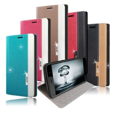 VXTRA HTC U Play 5.2吋 韓系潮流 磁力側翻皮套
