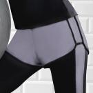 推EASY SHOP-沁涼運動 運動型短褲(銀河灰)