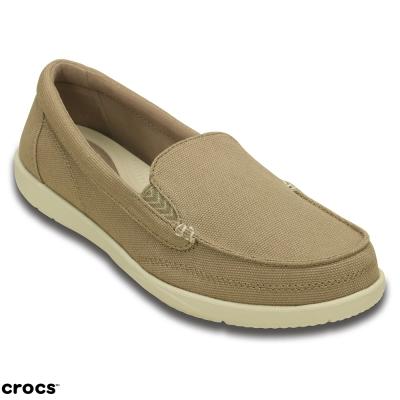 Crocs 卡駱馳(女) 沃爾盧帆布便鞋二代-202489-26P