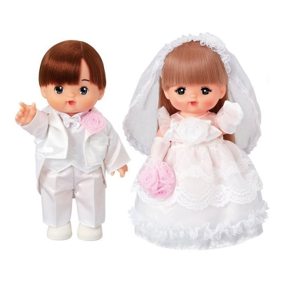 Amuzinc酷比樂 小美樂娃娃系列  25週年結婚版 小美樂&小葵 51367