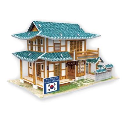 世界之窗 3D立體拼圖 韓國-糕點屋 3D World Style