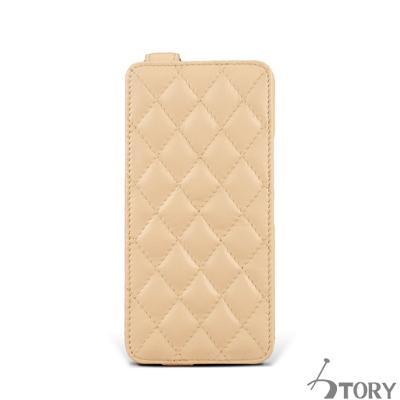 STORY皮套王 HTC M9+ 硬殼式下蓋菱格 客製化皮套