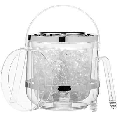 KitchenCraft 冰夾+淨透雙層冰桶
