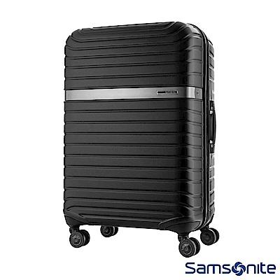 Samsonite 新秀麗 28吋LEVACK 線型紋理雙輪PC硬殼行李箱(石墨黑)