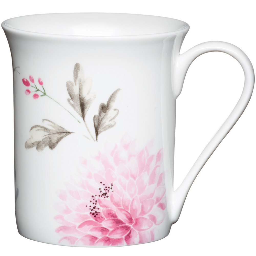 KitchenCraft 骨瓷馬克杯(古典花)