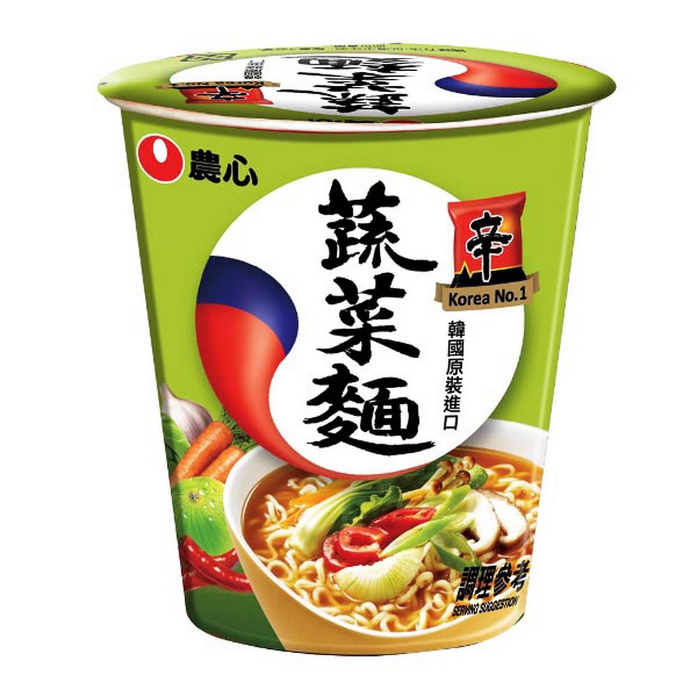 農心 蔬菜味杯麵(65gx12杯)
