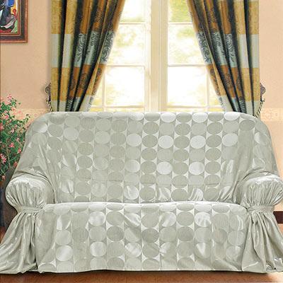《布安於室》普普風DIY3人座沙發罩-銀灰
