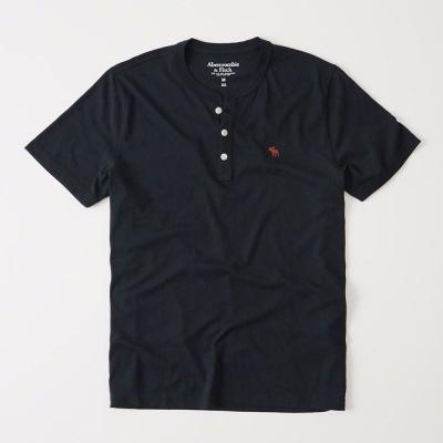 AF a&f Abercrombie & Fitch 短袖 T恤  藍色 0189