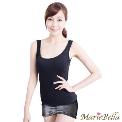 Bra Top 極致美型 寬版背心(黑) MarieBella