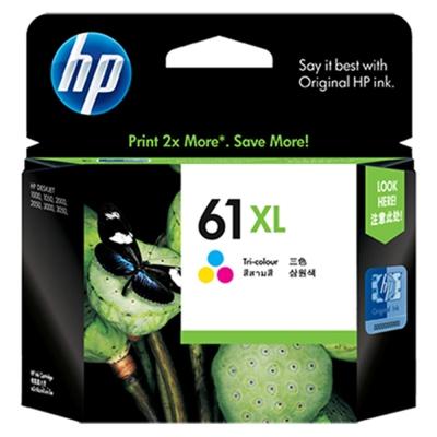 HP CH564WA #61XL 原廠彩色高容量墨水匣