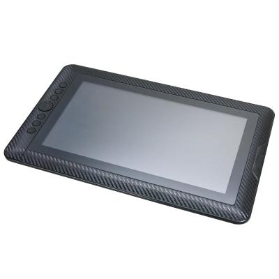 EZstick ARTISUL D13 液晶感壓繪圖板 Carbon 黑色立體紋機身貼