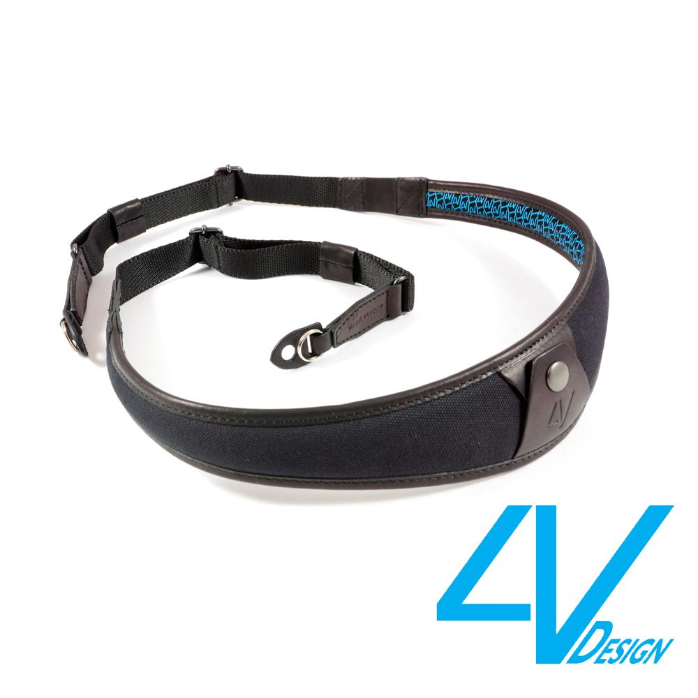 4V ALA系列相機背帶 LR-CV0909-黑/黑色(L)