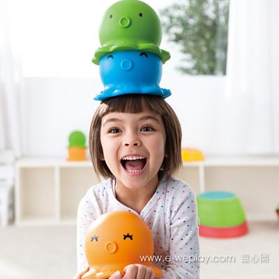 Weplay身體潛能開發系列【創意互動】章魚帽 ATG-KP6106