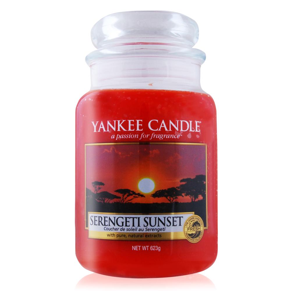 YANKEE CANDLE香氛蠟燭-坦尚尼亞落日623g