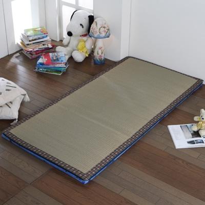 星辰 藺草折疊床墊-單人3尺