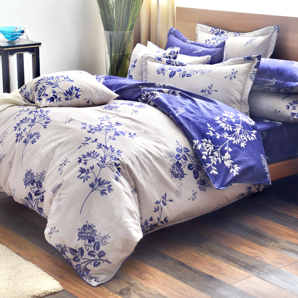 Grace Life 幸福如夢 精梳純棉單人全鋪棉床包兩用被三件組