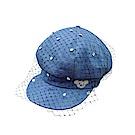 WHY AND 1/2 造型牛仔貝蕾帽