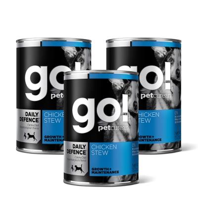 Go! 天然主食狗罐-品燉系列-鮮雞肉-12件組