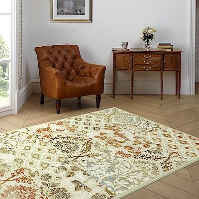 范登伯格 - 谷娜 進口仿羊毛地毯 - 幻境 (橘 - 133 x 190cm)