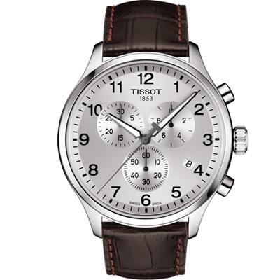TISSOT 韻馳系列經典計時腕錶(T1166171603700)45mm