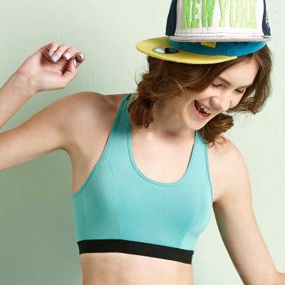 BeeDees蜜笛詩-好樂動-能量系列運動背心運動內衣M-EEL(綠)