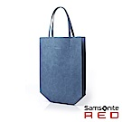 Samsonite RED CLAIRMONTE 時尚皮革托特袋(淺藍)